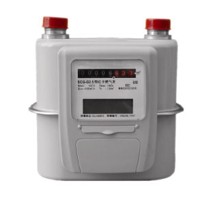 Industrial IC Card Prepaid Gas Meter G4 pictures & photos
