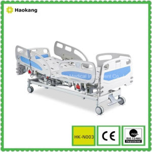 HK-N003 Deluxe Three Function Electric Bed (medical bed, hospital bed, patient bed) pictures & photos