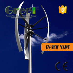 2kw Vertical Axis Wind Turbine Price for Sales pictures & photos