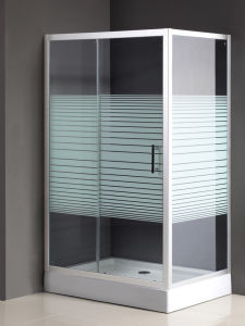 Bathroom Shower Doors with Shower Base (SD-024) pictures & photos