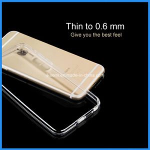 Thin Transparent TPU Mobile Phone Case pictures & photos