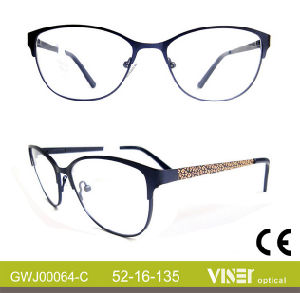 Metal Eyeglass Frames with High Quality (64-A) pictures & photos