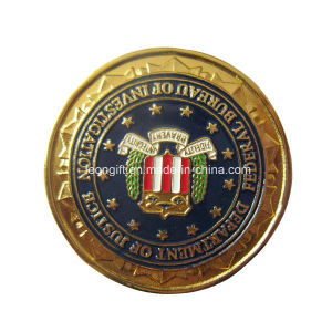 China Manufacturer Gold/Silver/ Brass Challenge Coin pictures & photos