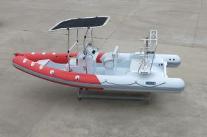 Aqualand 21.5feet 6.5m Rigid Inflatable Fishing Boat/Sports/Speed Boat/Diving Motor Boat (RIB650B) pictures & photos