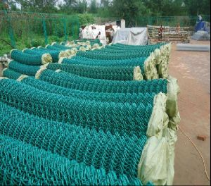 2inch Hole PVC Coated Chain Link Fence Mesh pictures & photos