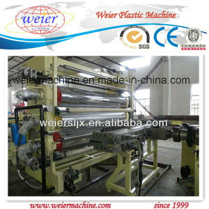 Plastic PVC Wide Floor Leather Waterproof Rolls Extrusion Line pictures & photos