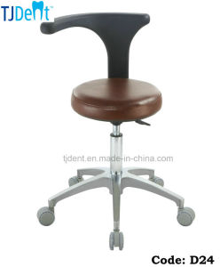 Secure & Comfortable Dental Chair Dentist Stool (D24) pictures & photos