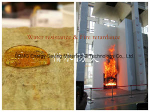 Fire-Protective Heat-Insulation Rock Wool Board Flame Spread Index Zero Smoke Develped Index Five pictures & photos
