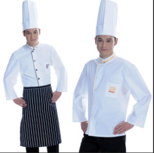 New Style White Chef Uniform for Hotel and Restaurant pictures & photos