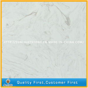 Engineered Artificial Marble Stone Quartz for Worktops and Table Tops pictures & photos