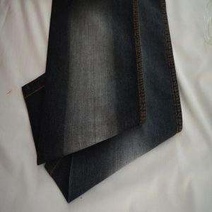 Poly & Cotton &Spandex Denim Fabric for Readymade Jeans Weight 6.4oz