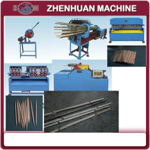 Complete Bamboo Toothpick Processing Machine pictures & photos