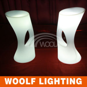 Night Club Illuminated LED Counter Stool pictures & photos