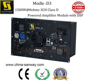 D3 3 Channel 1500W Audio Subwoofer Active Amplifier Module pictures & photos