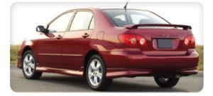 2003-2005 Spoiler for Toyota Corolla (KDS-TYT024)