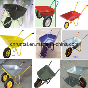 Zinc Plated / Galvanized Wheel Barrow / Wheel Cart pictures & photos