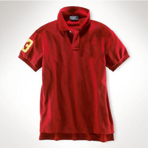 Fashion Nice Cotton/Polyester Embroidery Polo Shirt (P039) pictures & photos