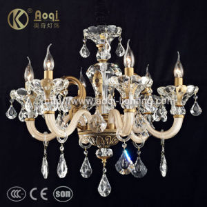 Classic Fashion Glass Candle Lamp (AQ20038-6) pictures & photos