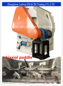 Effective Biaxial; Paddle Mixer Used for Feed/Food/Festicides/Pharmaceutical pictures & photos