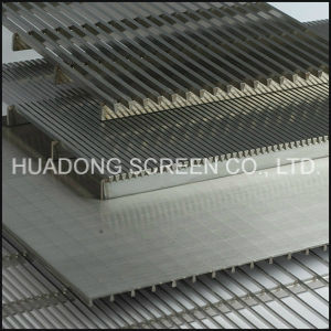 Ss 304 Johnson Screen Panels/ Flat Wedge Wire Slotted Screen Panels Prices pictures & photos