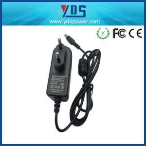 12V 1A EU Wall Plug Adapter pictures & photos