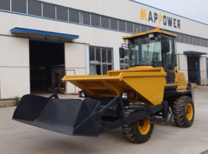 3ton 4 X 4 Quarry Dumper with Self Loading Bucket for Sale pictures & photos
