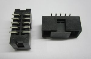 2.54mm Box Header SMT Type with Pick and Place Cap pictures & photos