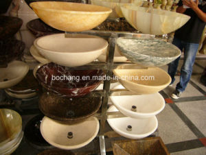 Granite Marble Onyx Stone Wash Basin Sinks pictures & photos