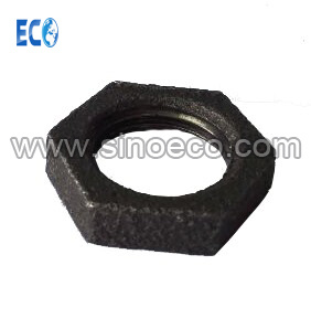 Malleable Cast Iron 310 Back Nut Black Lock Nut Pipe Fittings pictures & photos