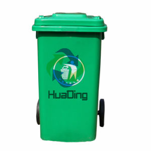 2 Wheels Plastic Garbage Bin Outdoor Bin pictures & photos