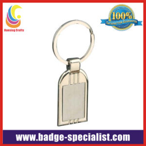 Blank Metal Keychain/Key Ring for Promotion (HS-KC048)