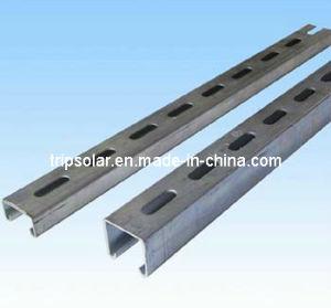 Aluminum Solar Panel Rail