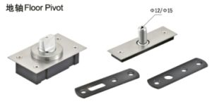Glass Door Pivot of Glass Hardware Fitting pictures & photos