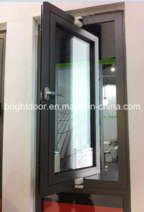 Middle Hung Window, Aluminum Center Pivot Window, Awning Window pictures & photos