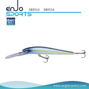 16cm Stick Bait Deep Diving Fishing Gear Fishing Lure with Vmc Treble Hooks (SB0516) pictures & photos
