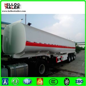 Carbon Steel Three Axles Fuel Tanker Trailer for Sale pictures & photos