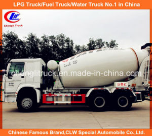 Sinotruk 371HP 14cbm HOWO Heavy Duty Cement Concrete Mixer Truck pictures & photos