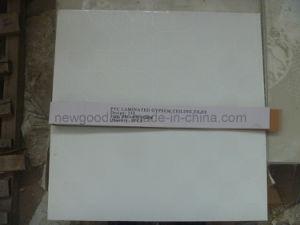 PVC Laminated Gypsum Ceiling Tile pictures & photos