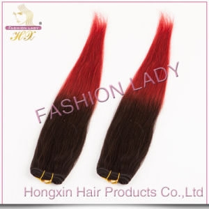 Remy Hair Ombre Colored Two Tone Hair Weave (HX-BR-010)