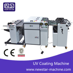 Sguv-480A Automatic UV Coating Machine Price, Digital UV Coating Machine, UV Varnish Coating Machine pictures & photos