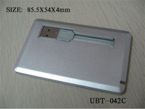 Metal Credit Card USB Flash Drive/USB Pen Drives pictures & photos