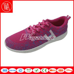 Comfort Plain Women Sports Leisures Shoes with Printing pictures & photos