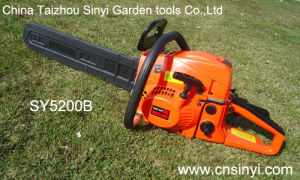 Gasoline Chainsaw (52cc) pictures & photos