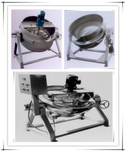 Jacketed Kettle/Cooking Pot/ Steam Boiler/Poultry Equipment/Slaughtering Machine pictures & photos