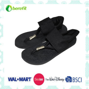 Spandex Upper and EVA Sole, Comfortable Wear Feeling, Sandals pictures & photos