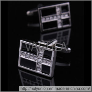 VAGULA Enamel Fashion Brass Cufflinks (Hlk31671) pictures & photos