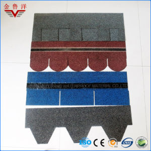 Different Types Colorful Asphalt Shingle /Mosaic Type /Fish Scale Type/Laminated Type /3-Tab Type pictures & photos