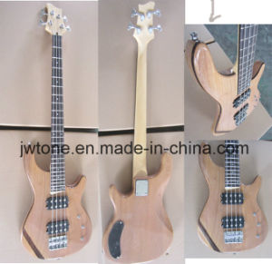 Rosewood Body Center Electric Bass Guitar pictures & photos