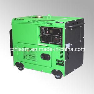 5.5kw Silent Portable Diesel Generator Set (DG7500SE) pictures & photos
