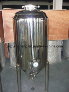 Stainless Steel Glycol Jacket Conical Fermenter pictures & photos